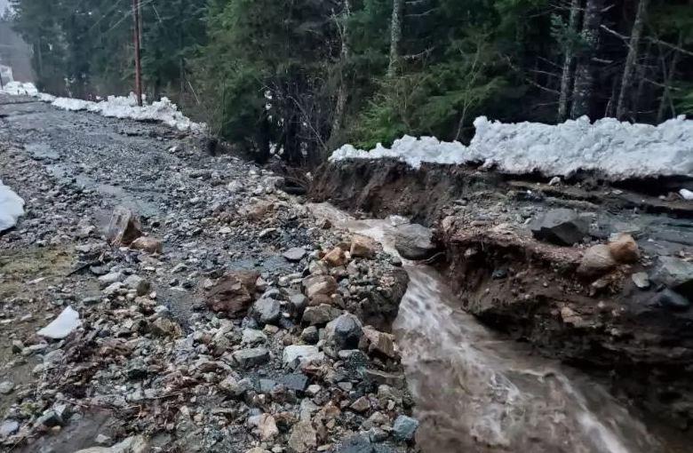 Из-за дождя на Аляске возникли оползни, шесть человек пропали — Синоптик