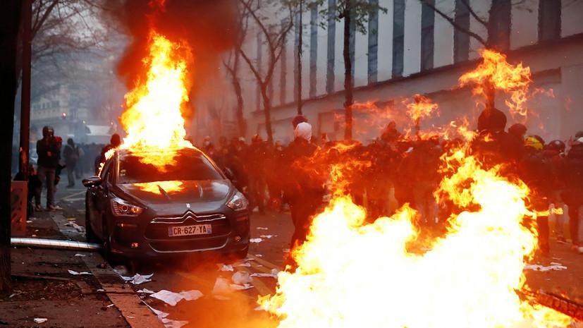 1607198708 9657 - Протесты во Франции - люди вышли против закона о защите полиции — Новости мира