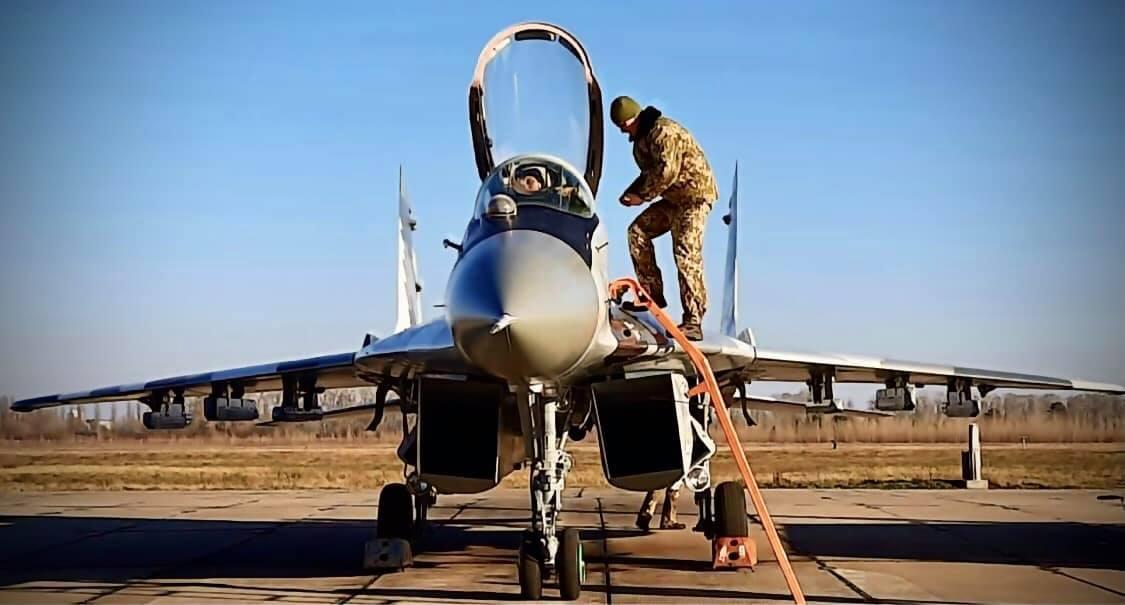 1607383613 1030 - Украинские военные получили модернизированный истребитель МиГ-29