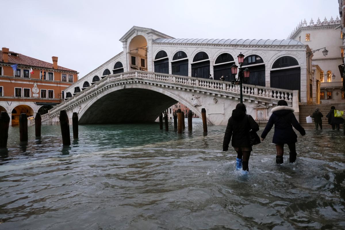 Венецию затопило из-за ошибки синоптиков
