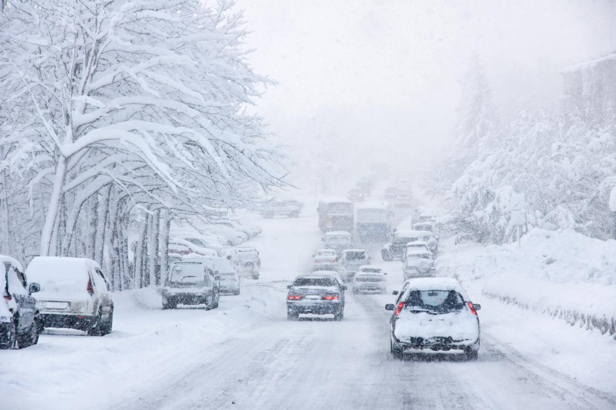 Пробки в Киеве — ситуация на дорогах столицы в четверг 14 января