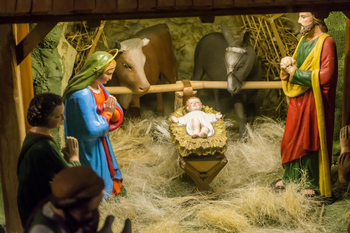 Христос родился! Христос рождается — поздравления в картинках и