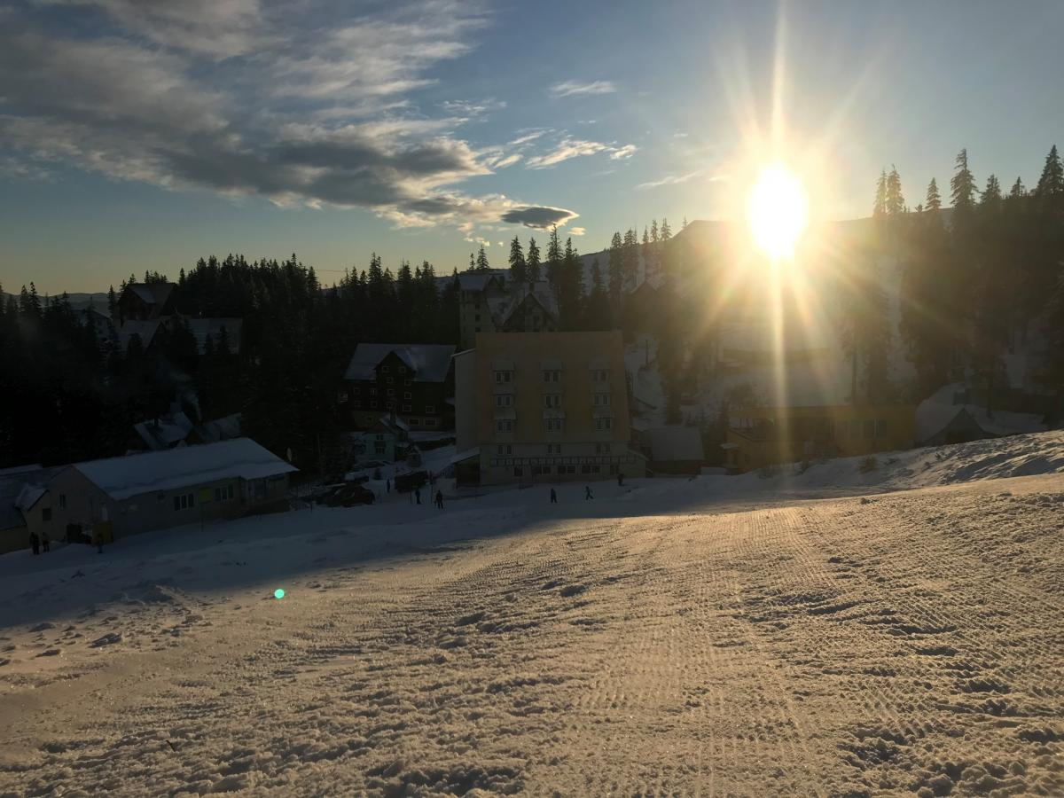 Снег в Карпатах на Драгобрате настоящая зима — Синоптик —