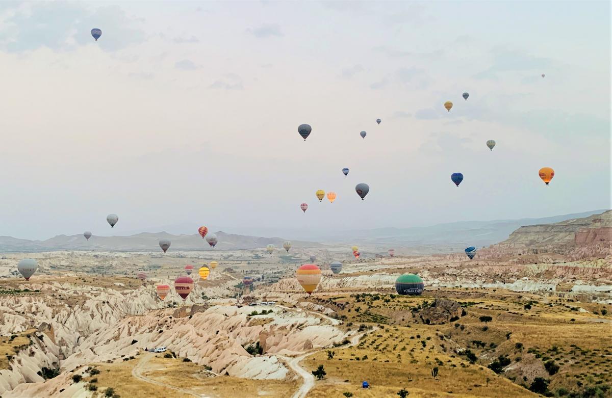 SkyUp прекращает полеты в турецкую Каппадокию спустя две недели
