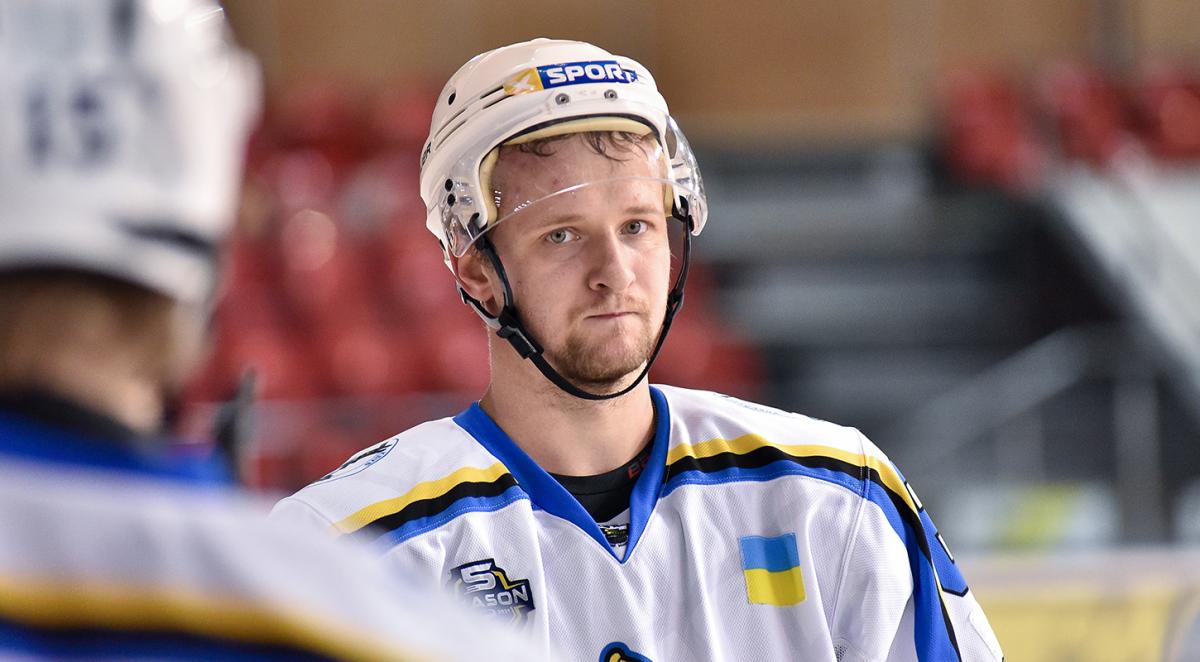 Хоккеист Днепра оформил самый быстрый дубль в истории УХЛ