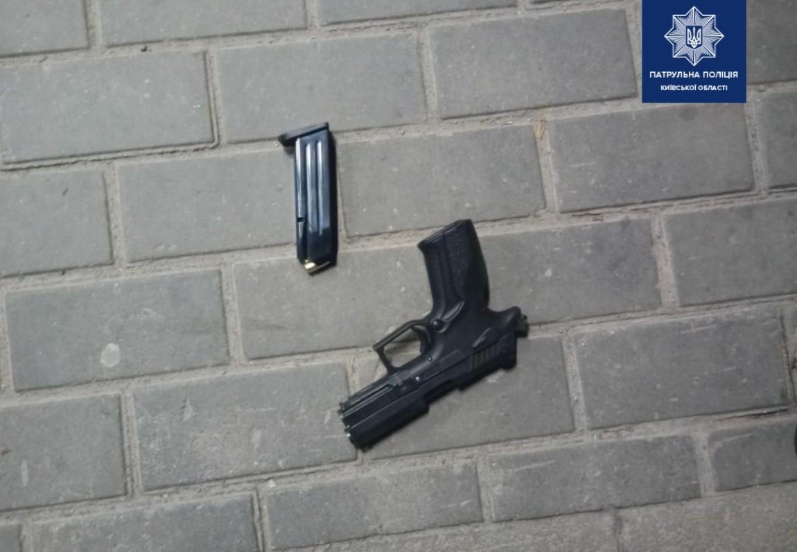 В Киевской области задержан мужчина, который устроил стрельбу возле