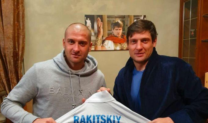 Ракицкий Селезнев — Ракицкий побывал в гостях у Селезнева и подарил