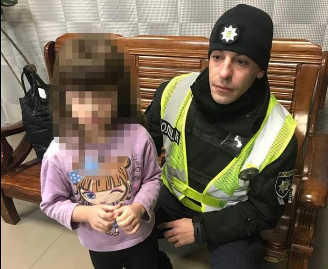 Искала маму: на улице в Одессе нашли 4-летнюю девочку, сбежавшую из