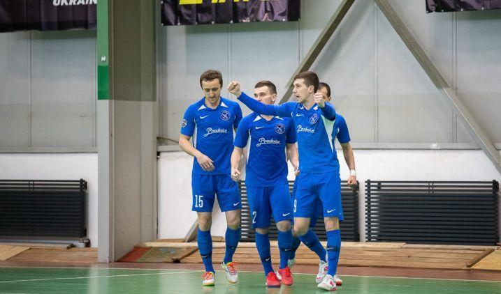 Лига чемпионов футзал — Продэксим разгромил макендонцев в плей-офф
