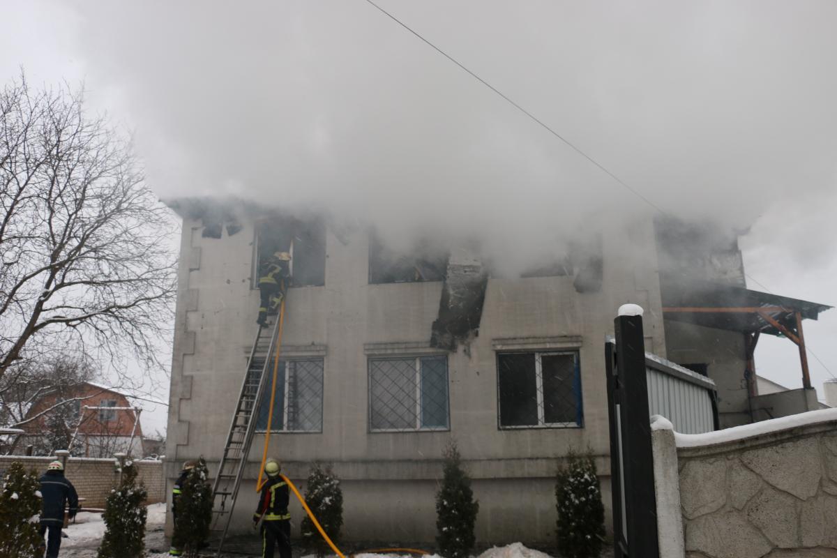 Пожар в Харькове — 22 января в Харькове объявили днем траура по
