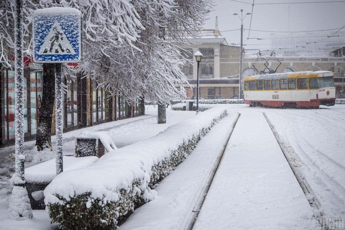 Непогода в Украине обесточены 182 населенных пункта — Синоптик —