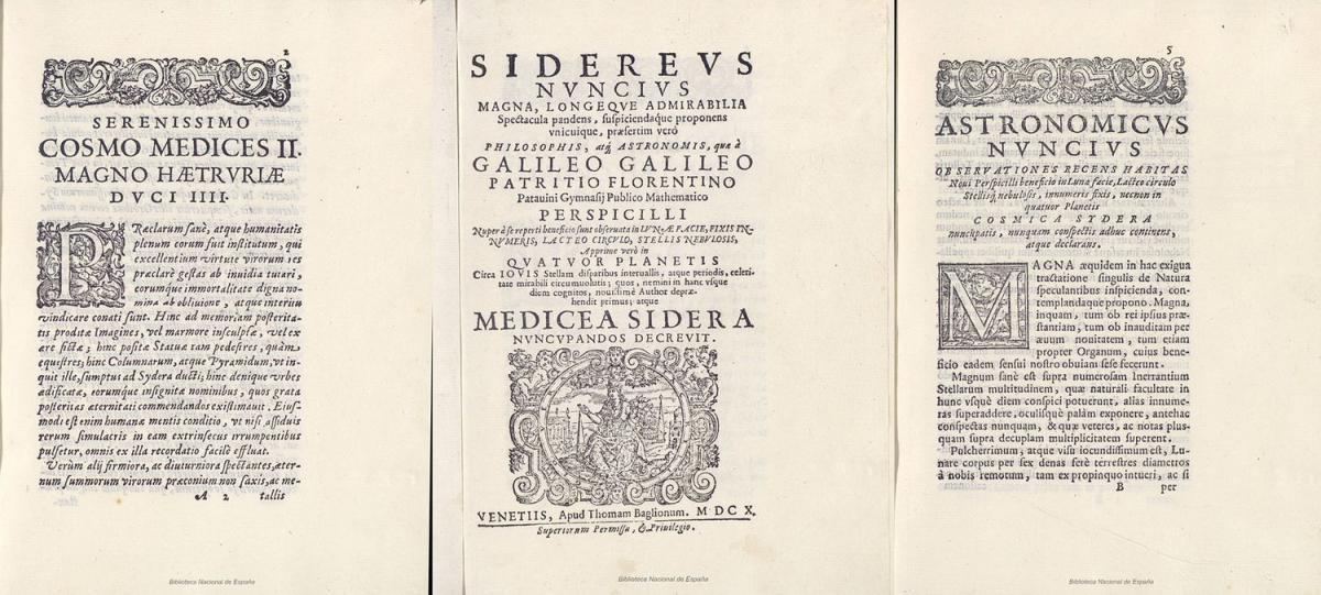 Трактат Галилея — Национальная библиотека Испаниичетыре года