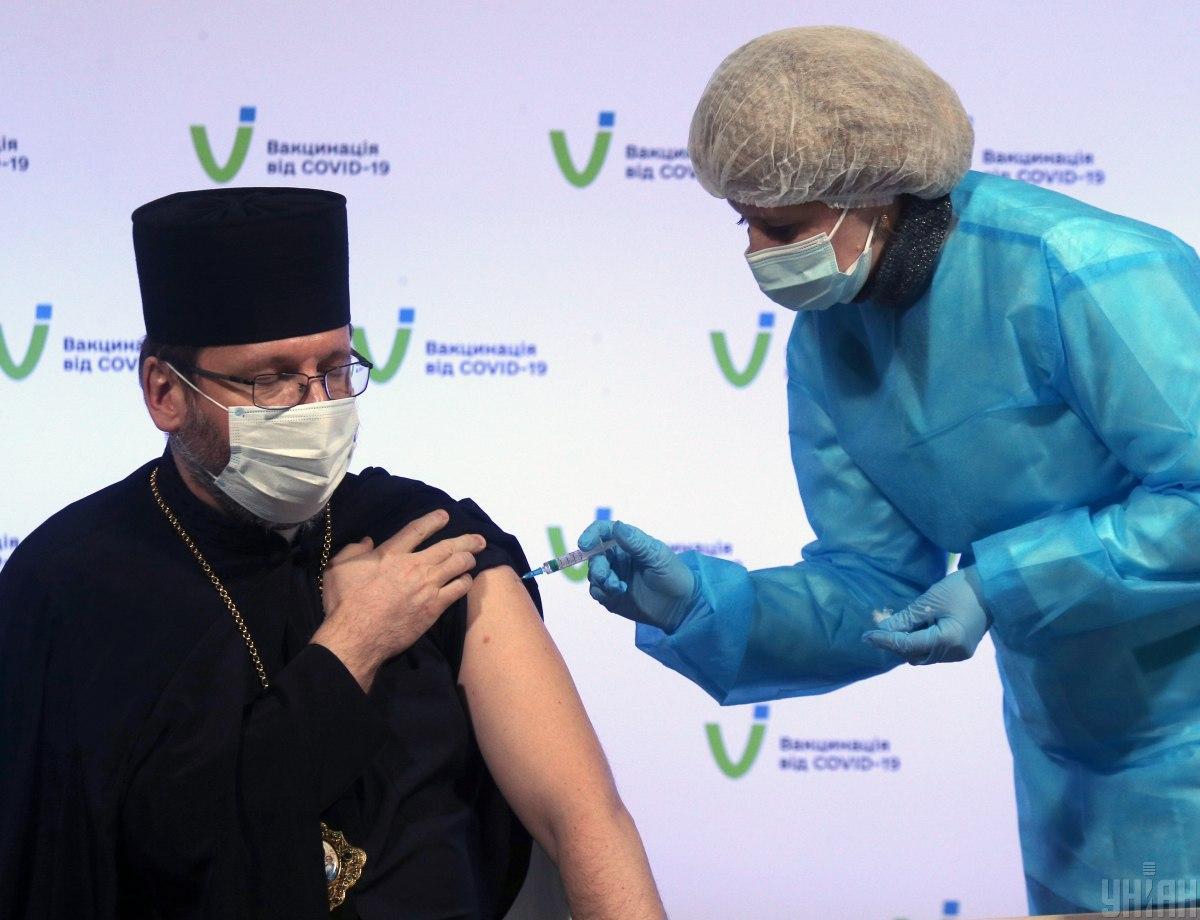 Вакцинация в Украине — СНБО рассмотрел состояние вакцинации