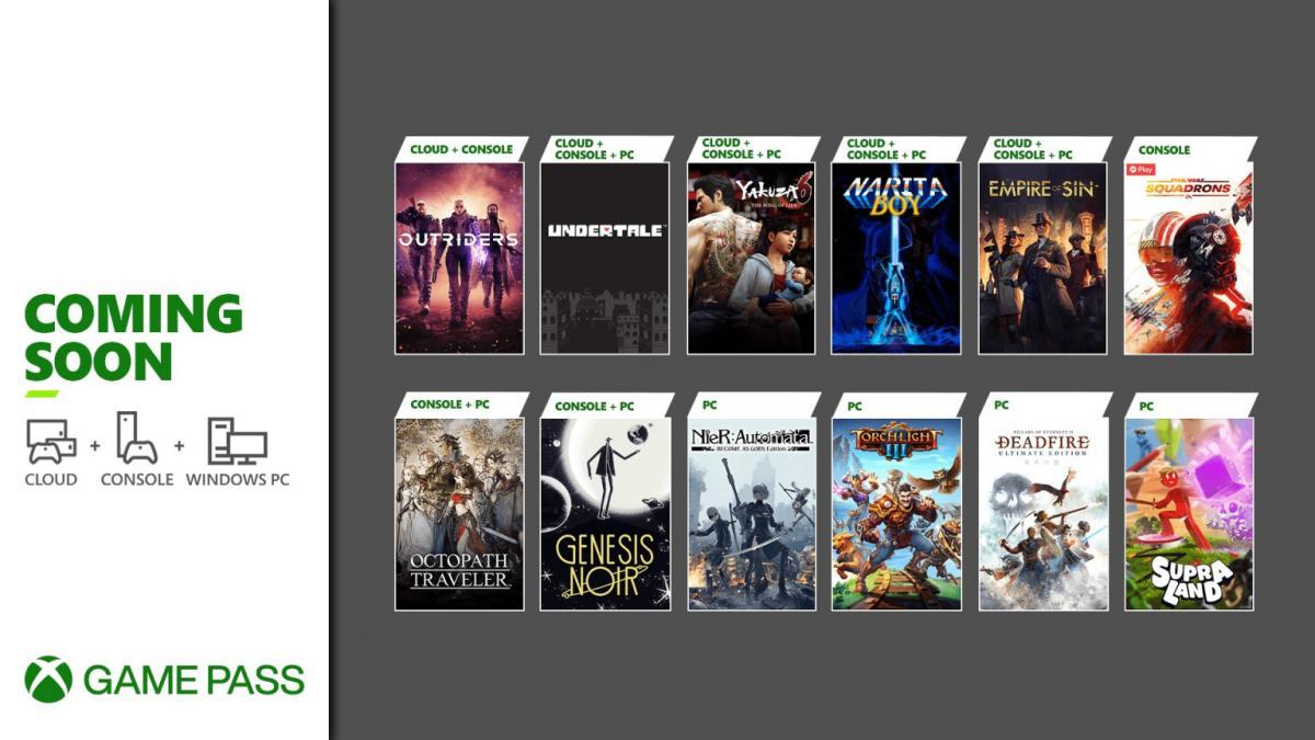 До конца марта подписчики Xbox Game Pass получат бесплатно 11 игр —