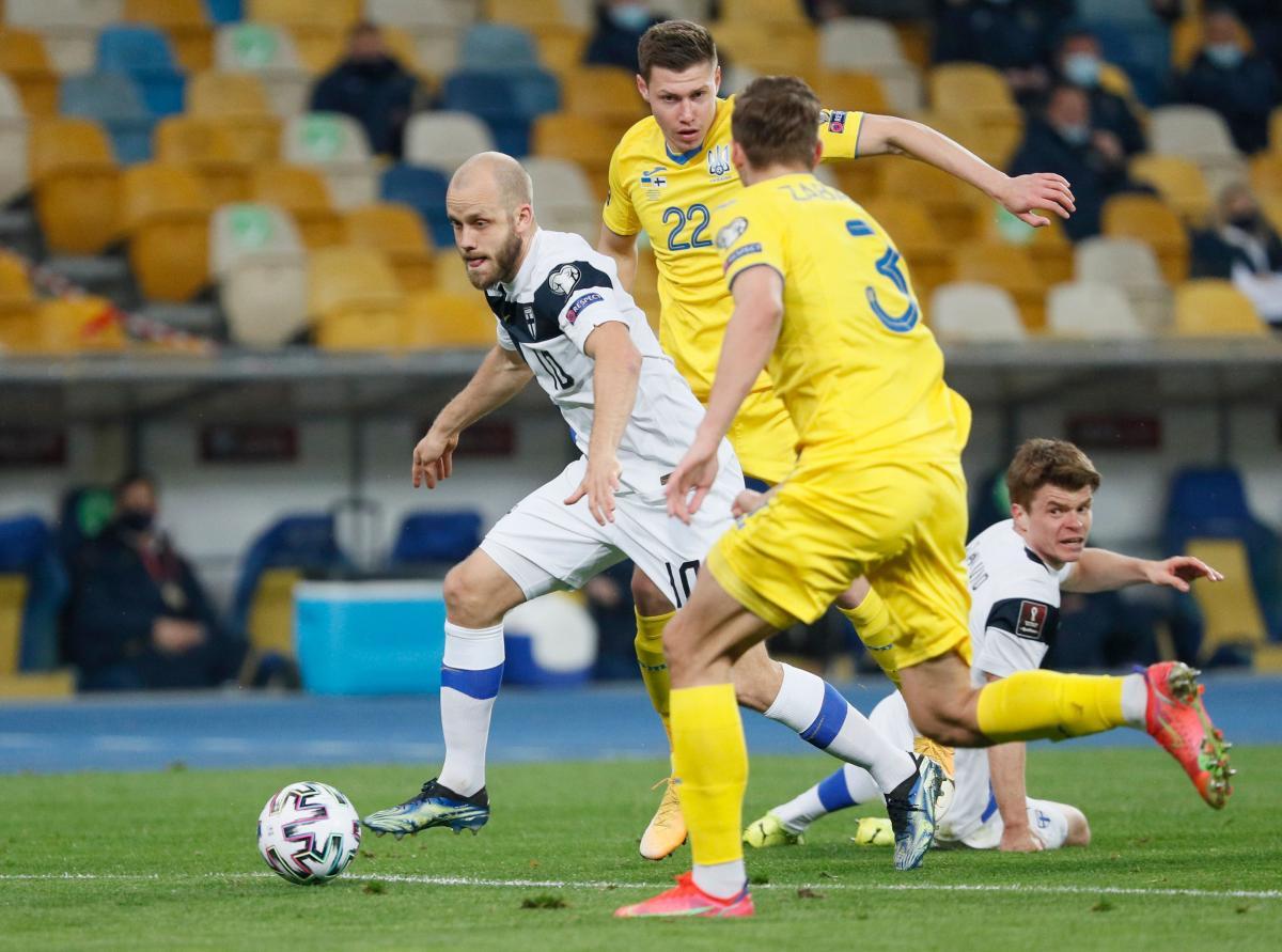 Украина Финляндия — смотреть онлайн матч 28.03.2021