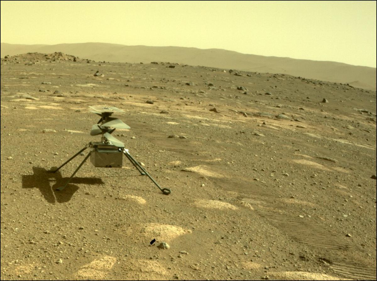 Исследование Марса — вертолет NASA выдержал ночные морозы на Марсе