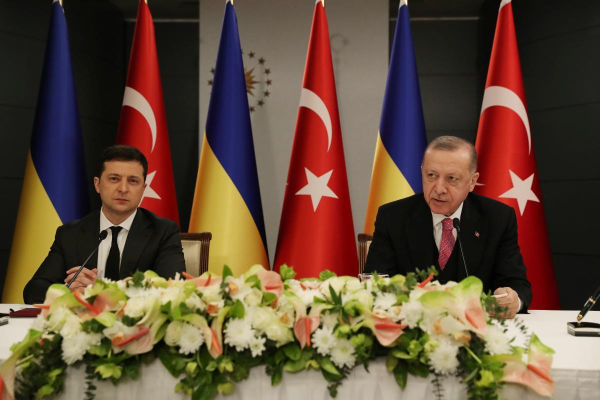 Зеленский: у Украины и Турции есть общее видение безопасности в Черном море