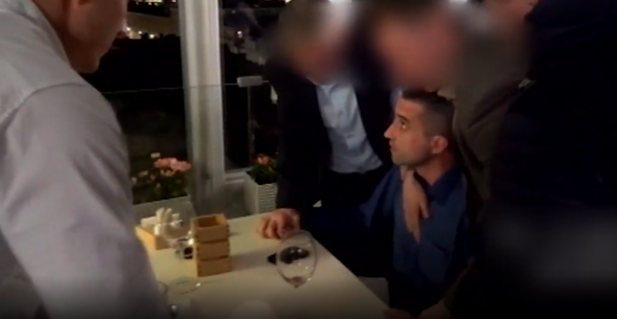 Появилось видео задержания украинского консула Сосонюка в России
