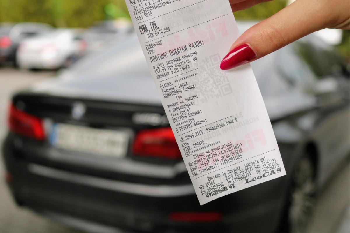 ОККО информирует водителей о том, сколько налогов они платят с каждого литра топлива
