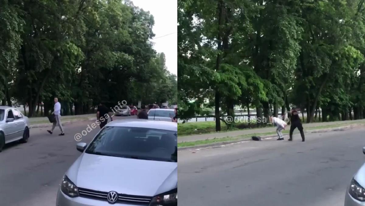В Одессе пассажир показал патрульному голый зад и получил - соцсети