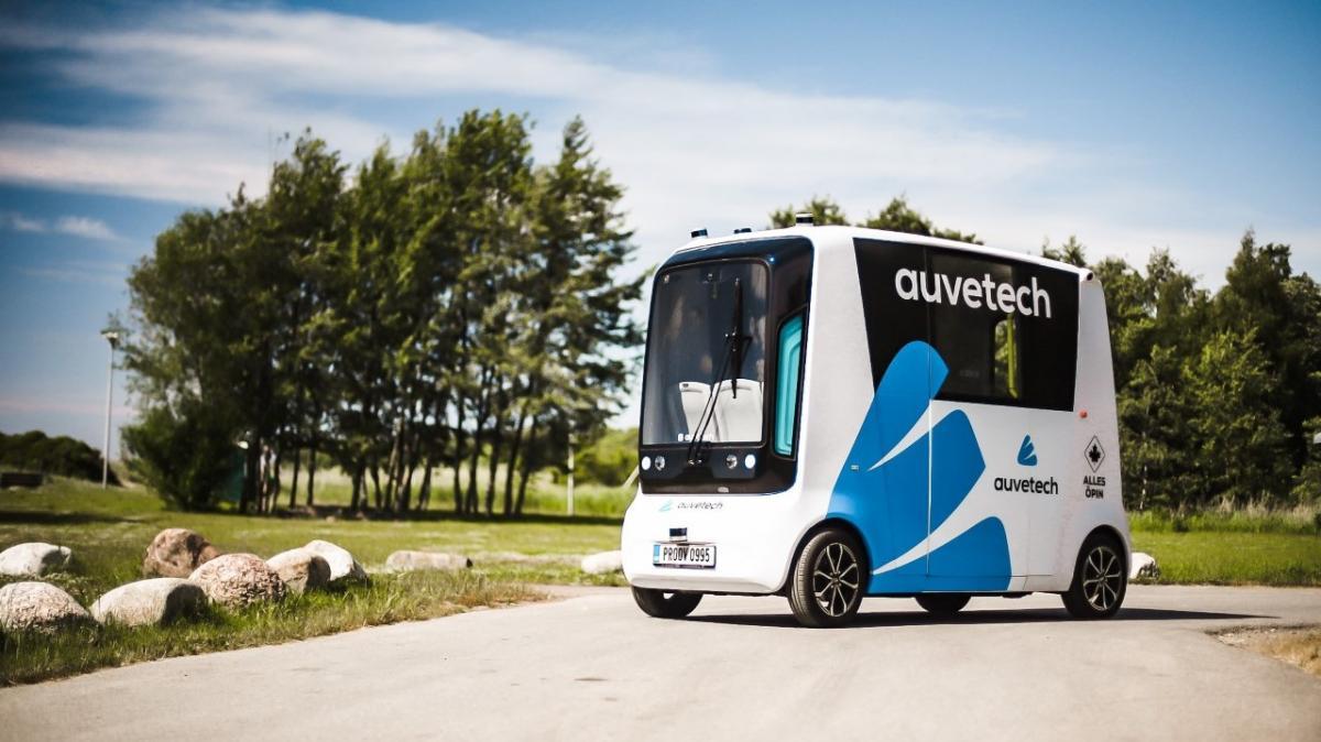 В Эстонии запустили беспилотные маршрутки на водородном топливе