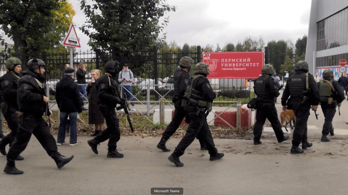 Пермский стрелок Бекмансуров  продукт агрессивной милитаризации России