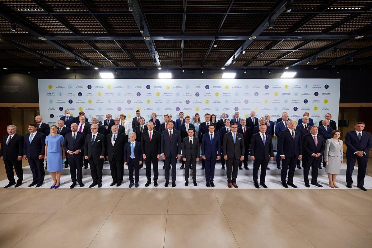 На День Независимости Украину посетило рекордное количество мировых лидеров: в ОП сняли фильм о подготовке