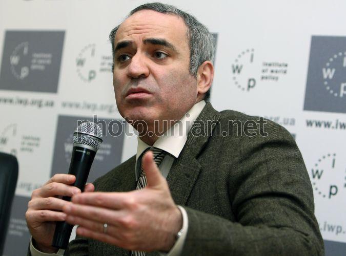 Photo Garri Kasparov - UNIAN