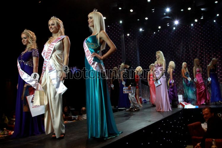 "Photo Winners of a beauty contest ""Miss Blonde Ukraine 2010"