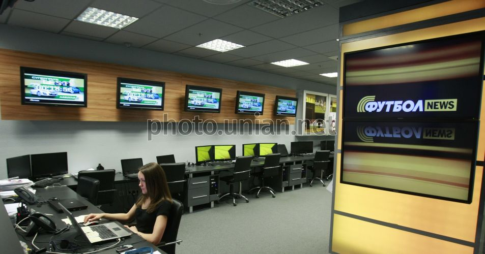 Photo The start of HD-version of the Soccerl TV channel - UNIAN