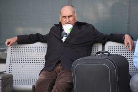 """Громадянин Туреччини в аеропорту """"Бориспіль"""""""