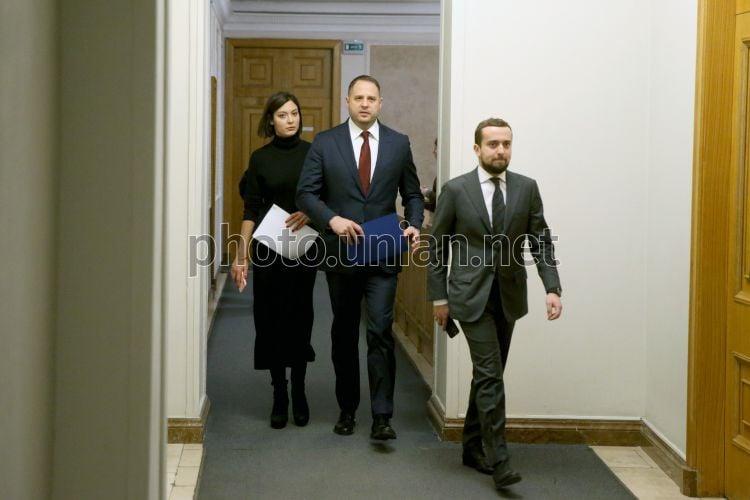 Фото Андрей Ермак и Кирилл Тимошенко - УНИАН