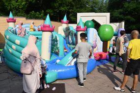 Entertainment during the celebration of Eid al-Adha
