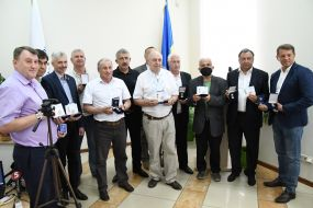 Participants in the ceremony of awarding the winners of the Simon Petliura Medal