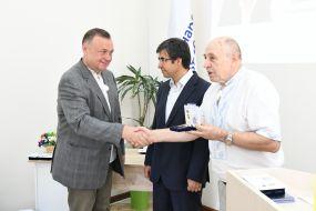 Viktor Nabrusko, , Gökhan Demir Volodymyr Serhiychuk