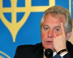Генеральний прокурор України Олександр Медведько під час прес-конференції в Донецьку. 15 грудня
