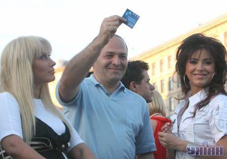 Таисия Повалий, Виктор Пинчук и Ани Лорак