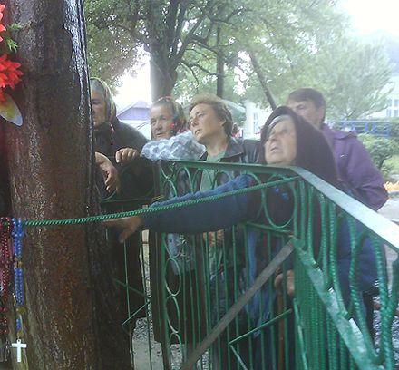 На Прикарпатье явилась очередная Дева Мария - общественные новости
