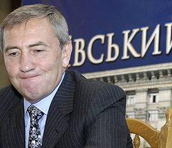 Леонид Черновецкий во время брифинга в КГГА. Киев, 27 июля