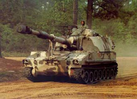 M109A5 155mm Self-propelled Howitzers
