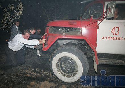 Муженко и группа офицеров выехали в Калиновку в связи с пожаром на складах боеприпасов, - Генштаб ВСУ - Цензор.НЕТ 7641