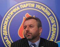 Юрий Загородний, председатель социал-демократической партии Украины (объединенной)