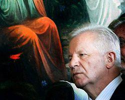 Александр Мороз посещает Свято-Успенскую Почаевскую Лавру во время рабочей поездки в Тернопольскую область. 10 сентября