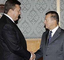 Віктор Янукович і Віктор Зубков. Фото Reuters