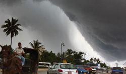"""Ураган """"Ноэль"""". Фото AFP"""