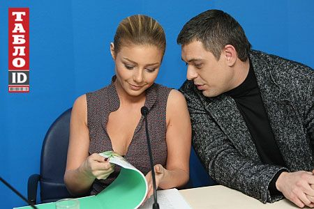 Тина Кароль и ее муж и продюсер Евгений Огир