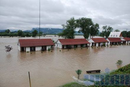Затопленное село. Львовская область
