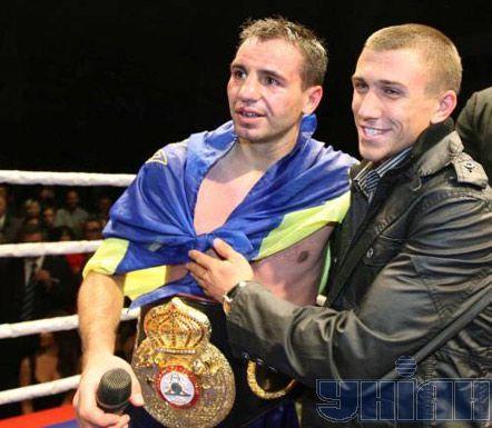 ... з олімпійським чемпіоном Василем Ломаченком