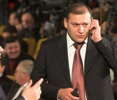 Михаил Добкин - среди участников общенационального антикризисного совещания. Киев, 12 ноября