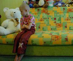 Пациентка Киевской городской онкологической больницы
